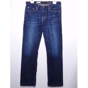 AG Adriano Goldschmied 32 Mens Jeans Straight Leg